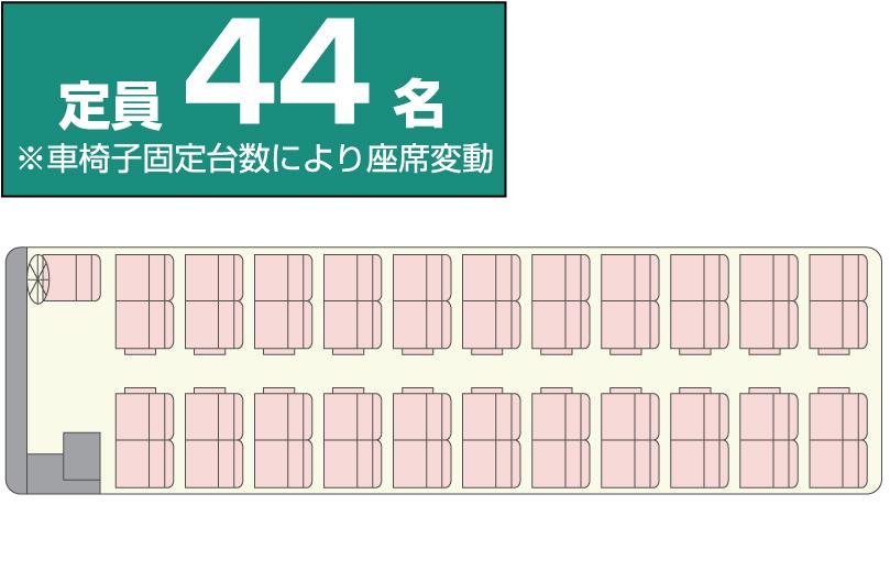 大型バス中二階(リフト付き・サロン仕様)