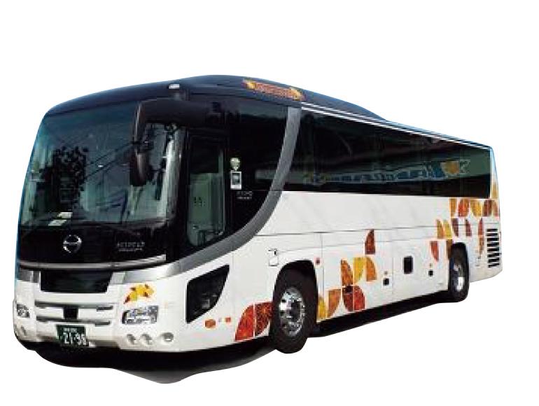 大型バス(トイレ付・サロン仕様)